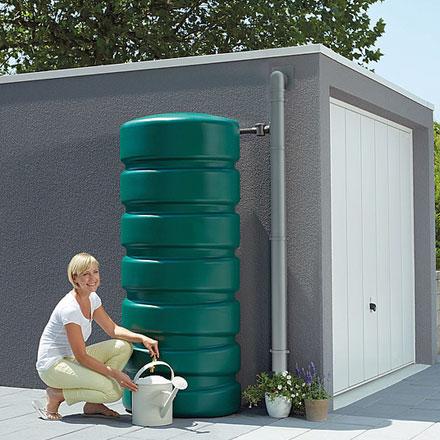 Depósito de agua pluvial clásico