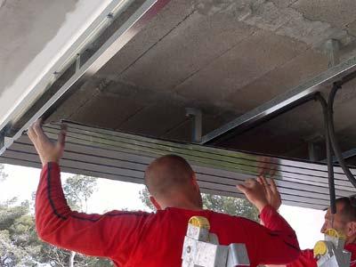 instalación de techos de aluminio techalum