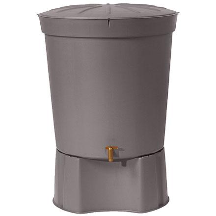 Contenedor de agua pluvial gris