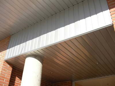 Techos aluminio para exteriores materiales de for Techos de galerias exteriores