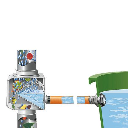 Sistema de depósito de recogida de aguas