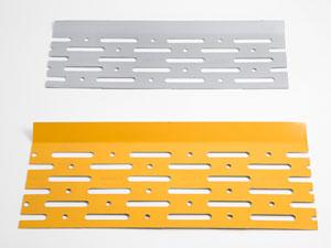 Aluguard lama de aluminio para el atasco de canalones pluviales