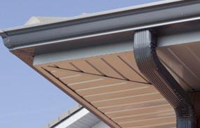 Techos de aluminio exterior e interior