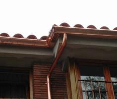 instalación de canalones de cobre en cataluña