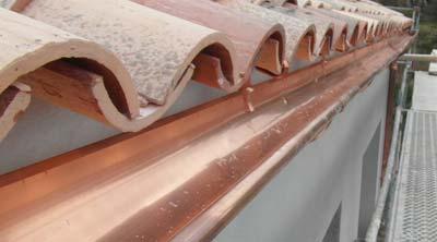 instaladores de canalones de cobre en tarragona