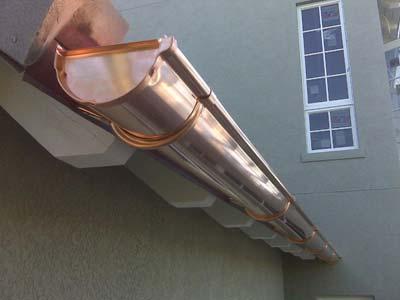 instaladores de canalón de cobre en barcelona