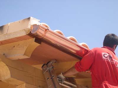 instaladores de canalon de cobre