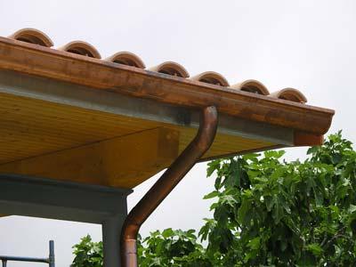 canalones de cobre en barcelona