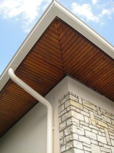 instalacion de canalones en tejados con mucho vuelo