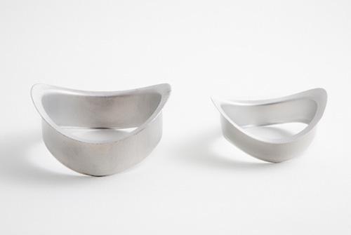 Nacimientos curvos para canalones de aluminio