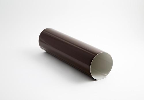 Bajante redonda de 80 para canalones de aluminio