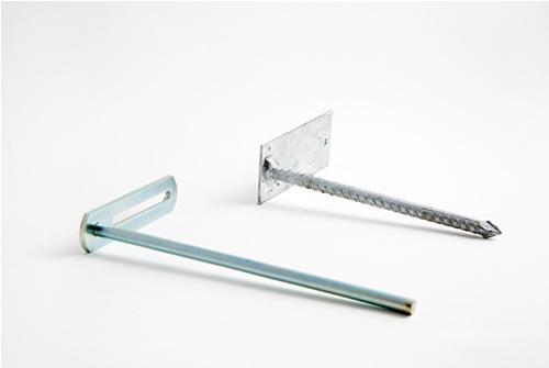 Separador para canales pluviales de aluminio