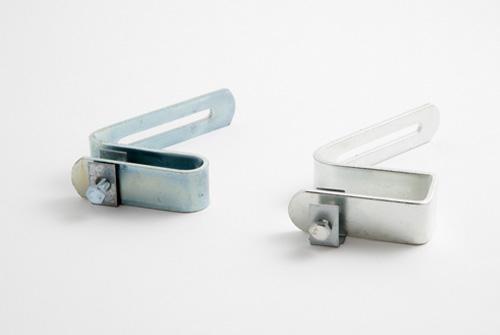 Soportes para canalones de aluminio en teja y uralita