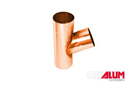 Y para canalones de cobre