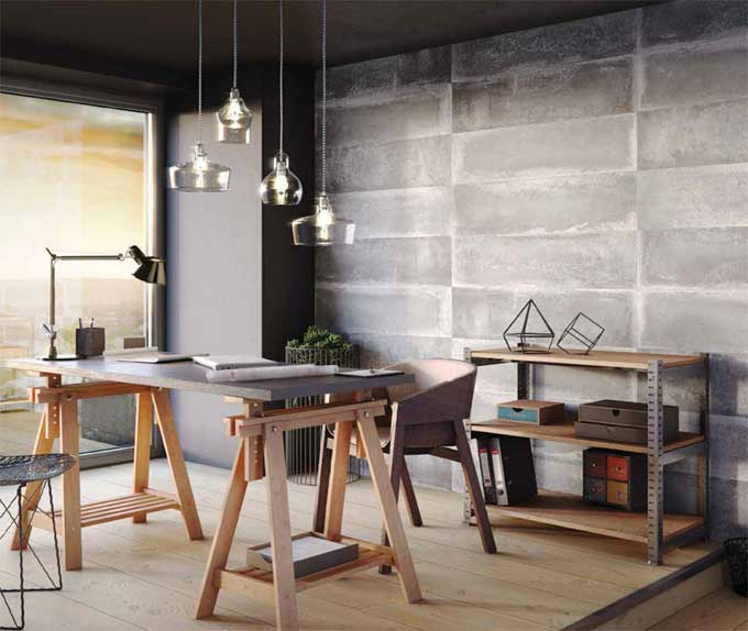 revestimiento loft concrete