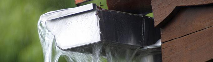 ¿Filtraciones en los canalones pluviales?: Motivos más comunes