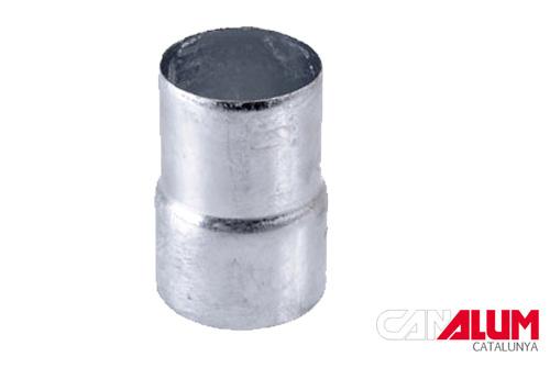 manguito de conexión para canalón galvanizado