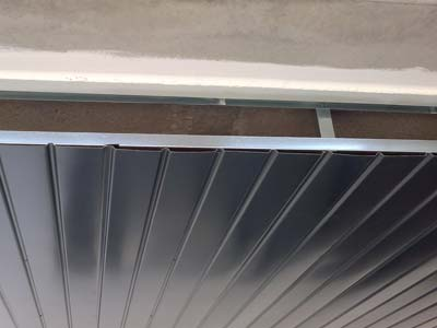 instalacion de techo de aluminio