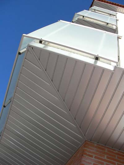 instaladores de techo de aluminio