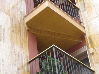 techos de aluminio en terrazas