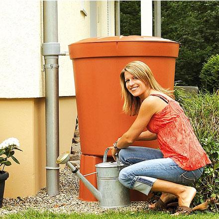 Deósito contenedor recogida de aguas pluviales Toscana