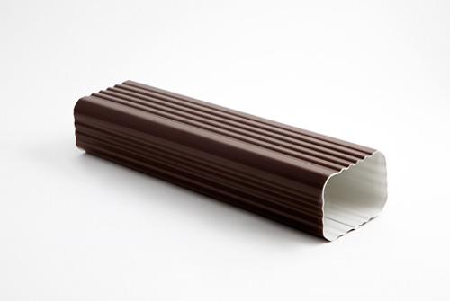 Bajate rectangular para canalón de aluminio 60 x 80