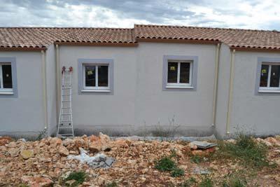 instalacion de canalones de aluminio en viviendas