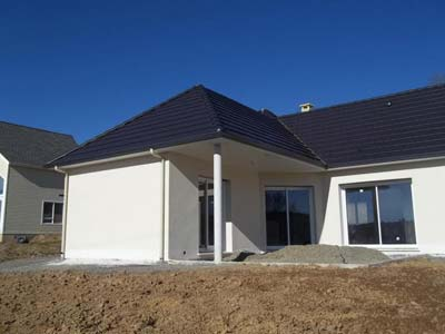 instalacion de canalón de aluminio en viviendas