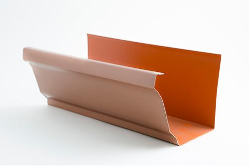 Canalón de Aluminio Modelo Cornisa