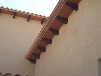 instalaciones de canalon de cobre