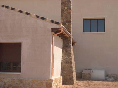 instalacion de canalones de cobre