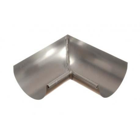 modelo de canalón de zinc tradicional