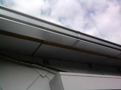 canalones de zinc para tejados