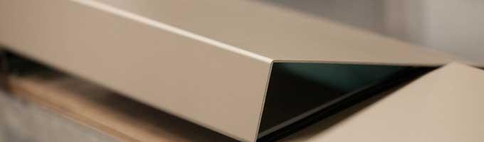 cubremuros de aluminio