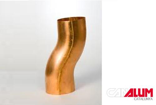 Desviación para canalones de cobre