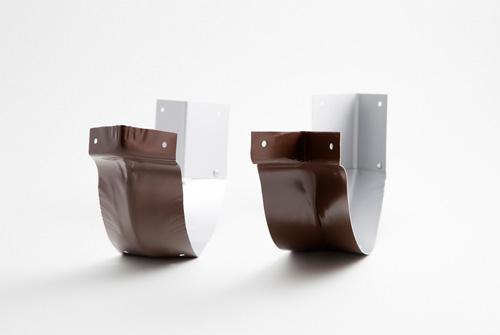 Inglete para canalones de aluminio San Marco