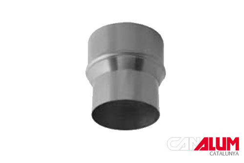 Reductor de caudal para canalón de zinc