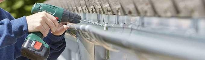 4 Sencillas directrices para la instalación de canalones pluviales
