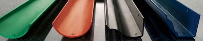 Fabricación de canalones – Maquinaria