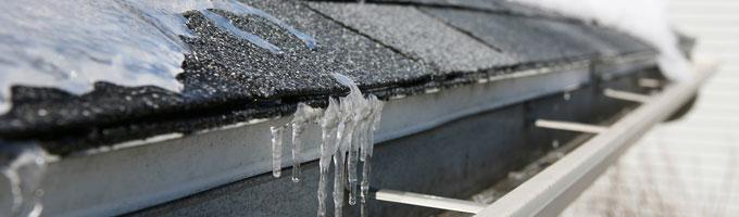 hielo en los canalones