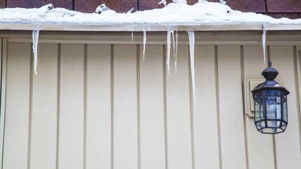 evitar que se congelen los canalones