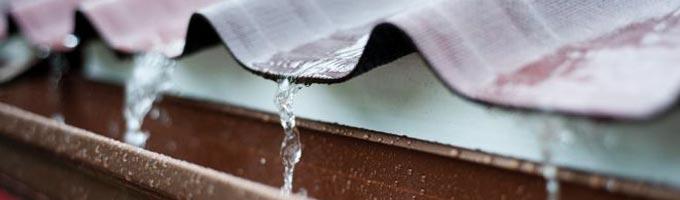 recoleccion de agua de canalones