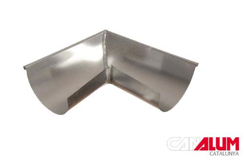 ángulo interior para canalones galvanizados