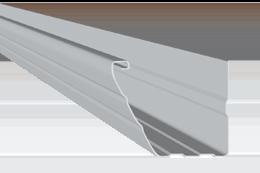 Canalón de aluminio modelo Victoria