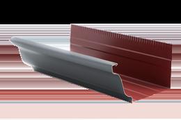canalones de aluminio modelo Cornisa - 325