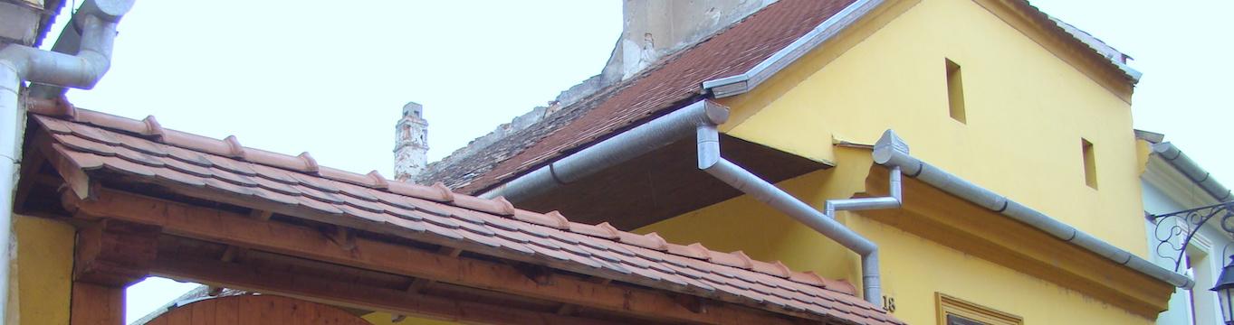 Canalones de una vivienda con el tamaño adecuado
