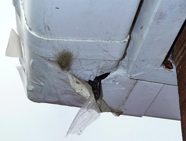 Desventajas de los canalones de PVC
